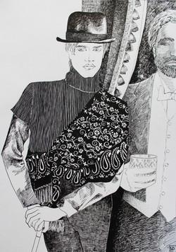 Дориан и лорд Генри копия