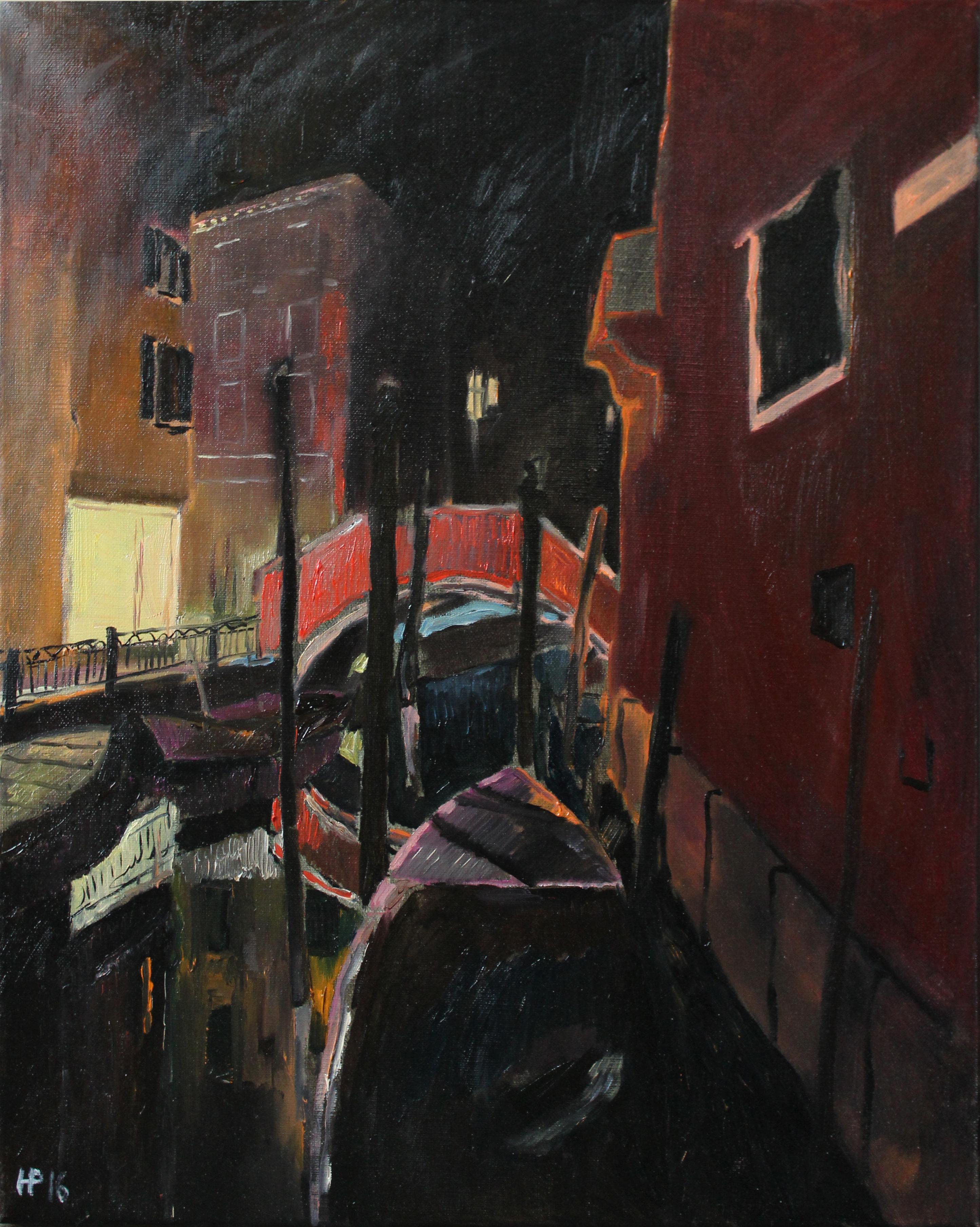 Венеция ночь