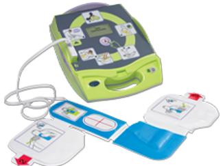 ZOLL®️ AED Plus, Fully Automatic External Defibrillator
