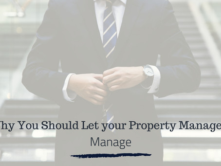 Why You Should Let your Hayward Property Managers, Manage