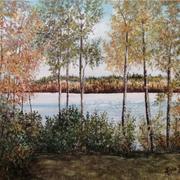 Struthers Lake in Autumn
