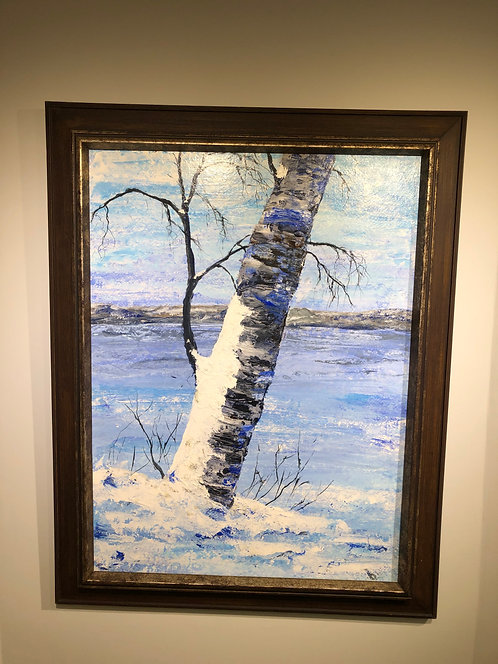 Winter Birch - Annette Henbid
