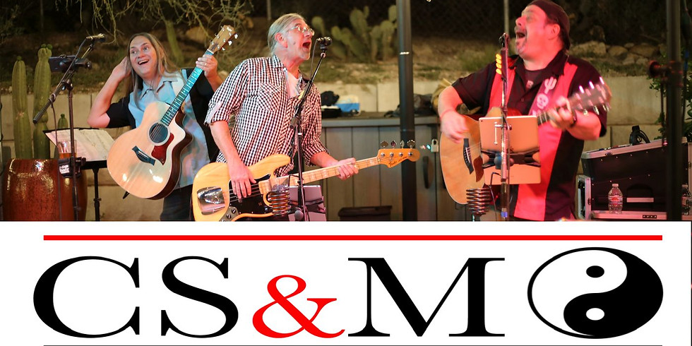 Porch Series:CSM Trio - July 3 at 7:30pm NEW TIME!