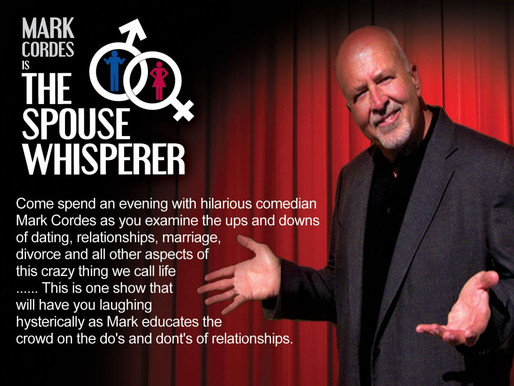 5/2 -INDOORS- The Spouse Whisperer Comedy Show