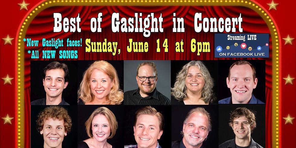 Best of Gaslight Benefit Concert on Facebook LIVE - June 14 at 6pm