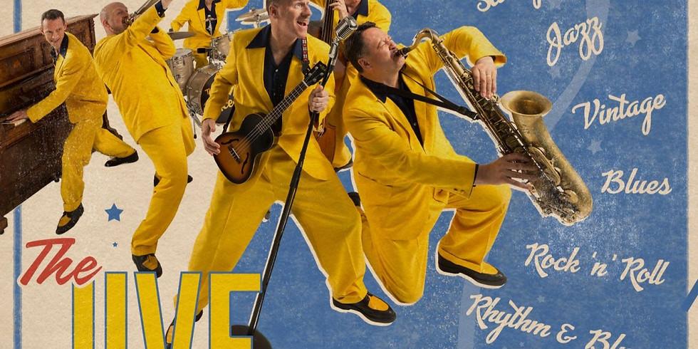The Jive Aces, UK's #1 Swing and Jive Band - April 6 at 6pm