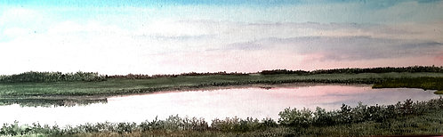Sunset on the Rotary Trail-Linda Jensen