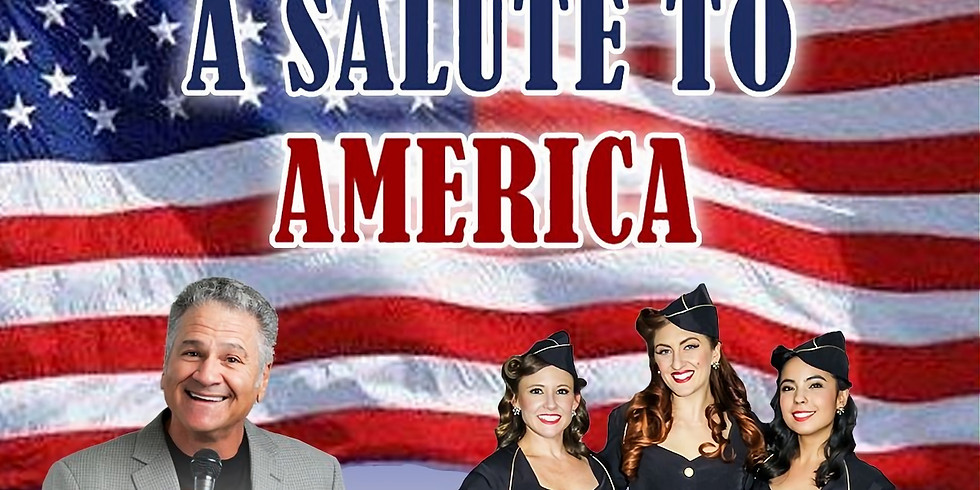 A Salute to America, Indoor Concert - July 6 at 6pm
