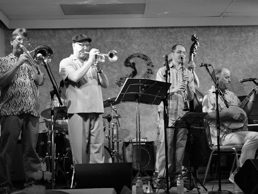 4/25 -INDOORS- Roaring 20s with Wildcat Jazz Band