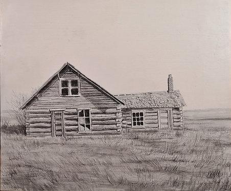 Settler's Log Home - Jack Jensen