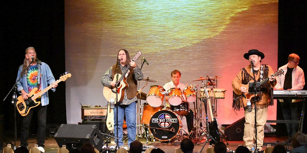 Porch Concert: Classic Rock with Five Way Street