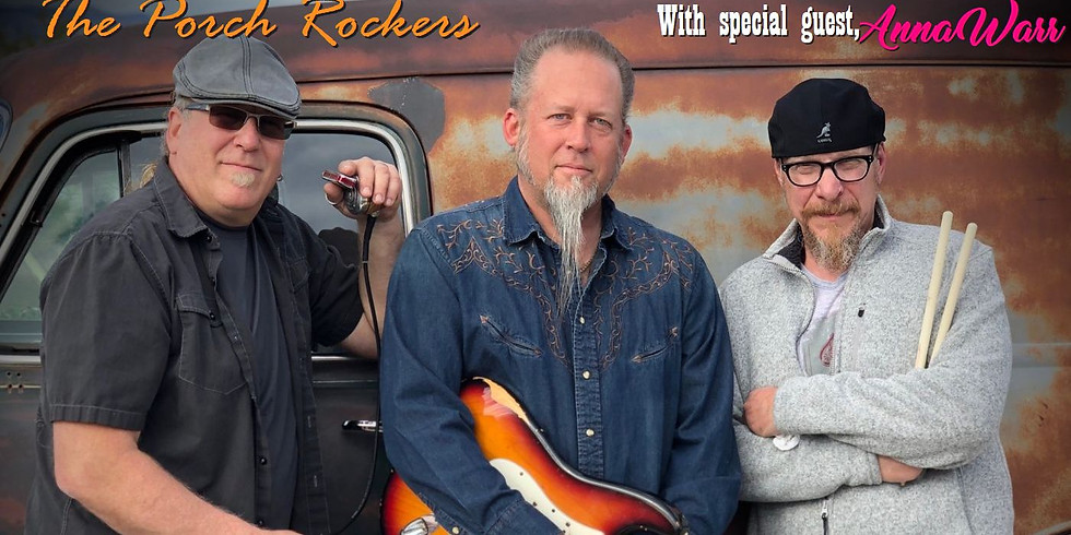 Gaslight Porch Series with The Porch Rockers - June 26 at 7:30pm