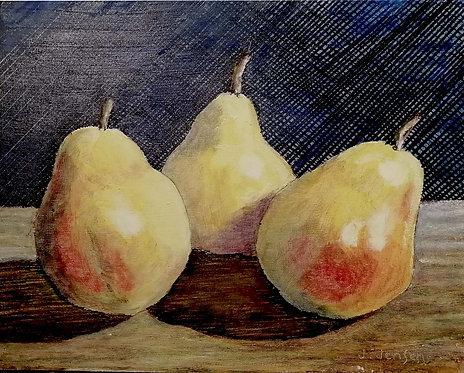 The Three Pears-Jack Jensen