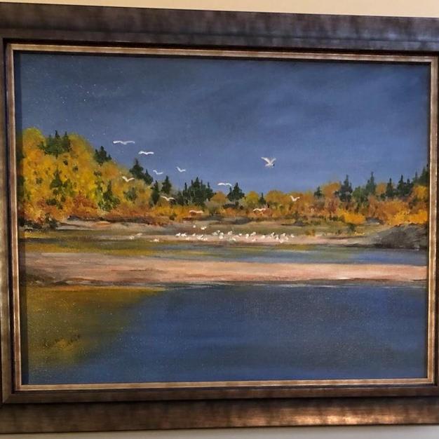 Fall on the North Saskatchewan