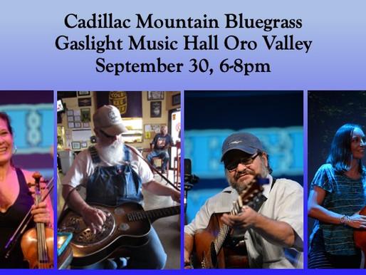 9/30 - Bluegrass Jamboree!