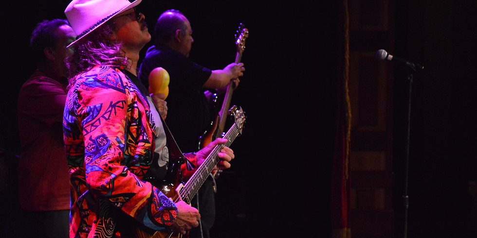 -INDOORS- SOLD OUT Tribute to Santana, starring FLG