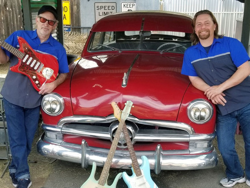 4/23 Outdoors: Cars & Guitars with The Surf-Sonics