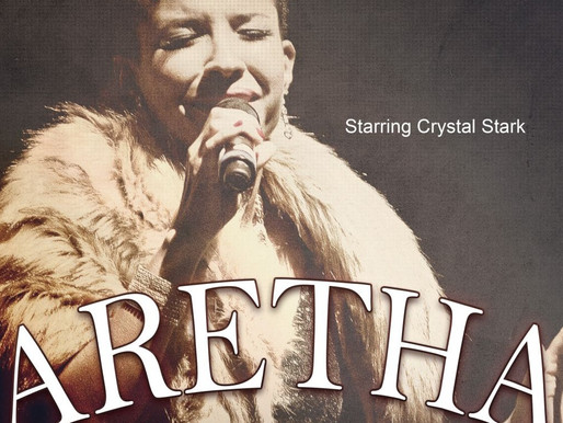 10/24 - ARETHA: Long Live The Queen, starring Crystal Stark