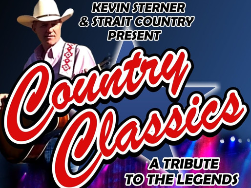 5/16 -INDOORS-  Country Classics, with Kevin Sterner