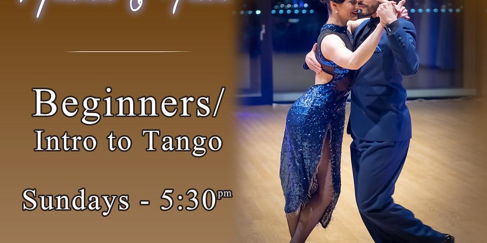 Beginner - Online Argentine tango class (live on Zoom) Jun 28 - 5:30pm