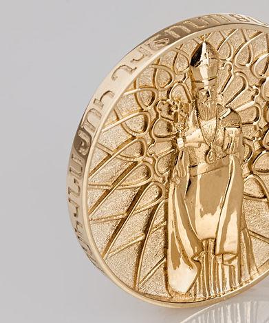 Saint Gregory The Illuminator Of Armenia Limited Gold Edition Medal