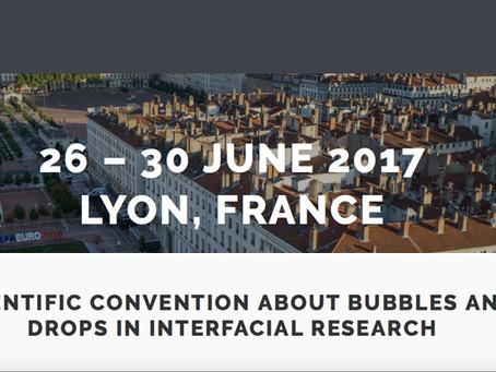 Bubble & Drop conference program is online!