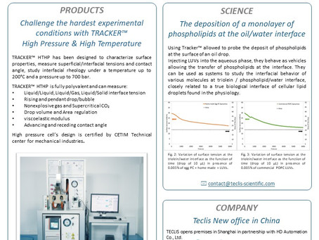 Have you already read Teclis Scientific's January Newsletter?