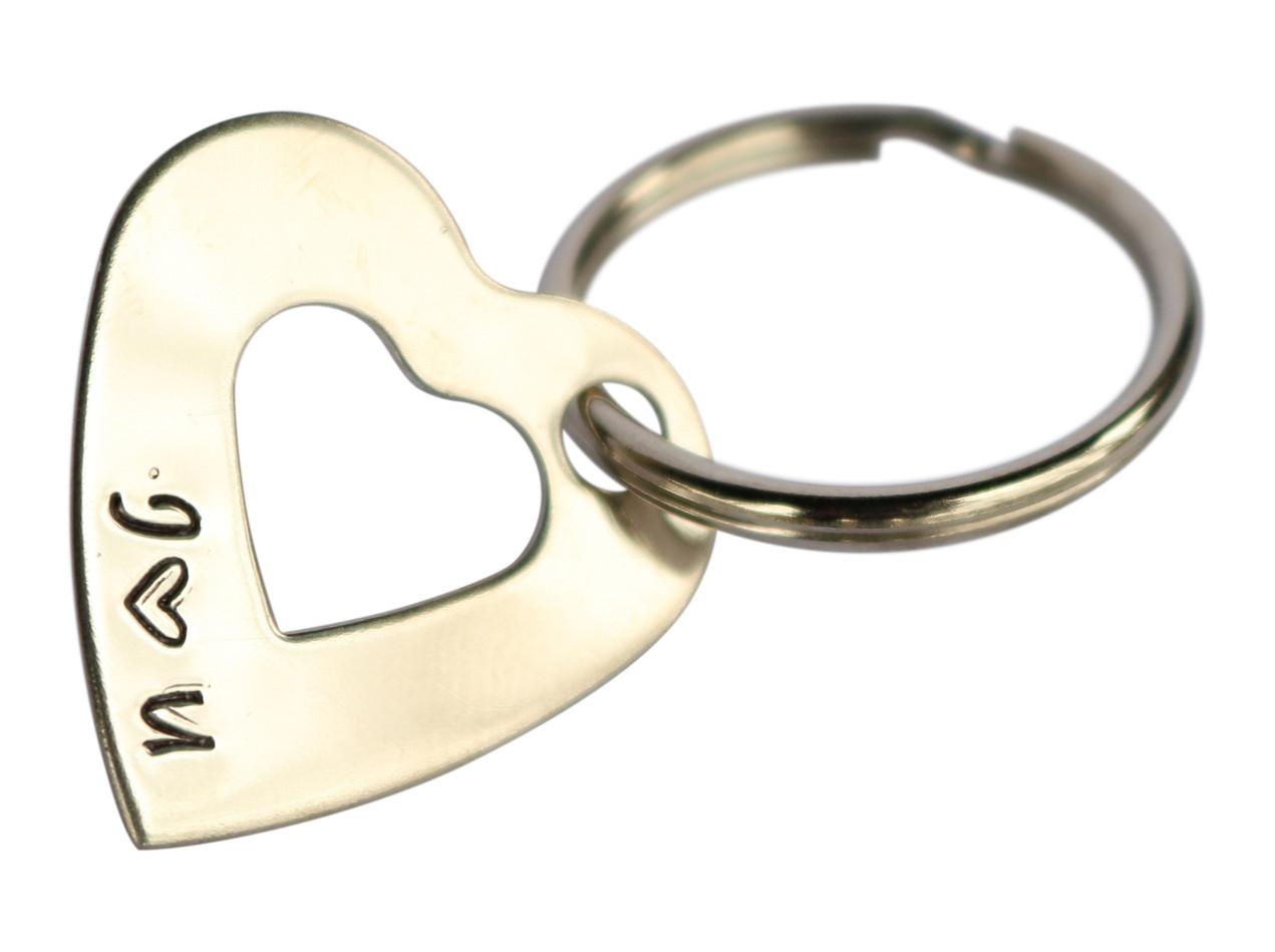 Keychain that says I love you