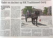 Leuk artikel in de Soestercourant