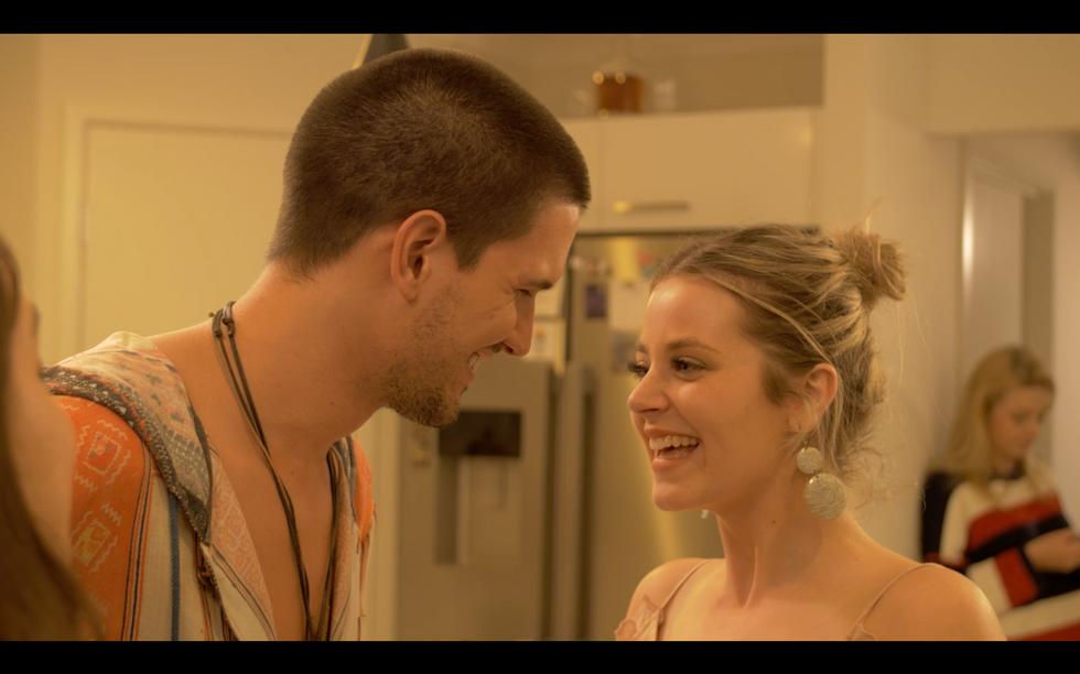 Phoebe Tweddle Australian Actor in Volta Commercial