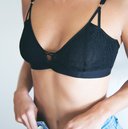 Lingerie photography by Florencia Montefalcone for Donna Intimates