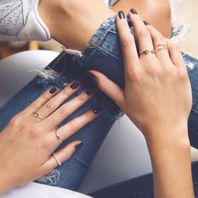 Minimalist Jewelry Photography