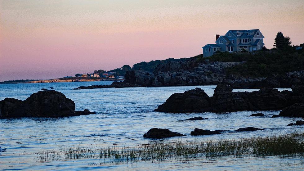 Cape Elizabeth ME sunset