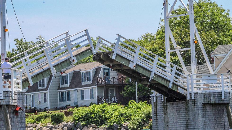 Perkins Cove, Ogunquit ME footbridge