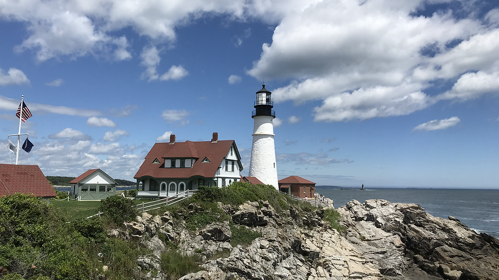 Cape Elizabeth Light, ME Note Cards