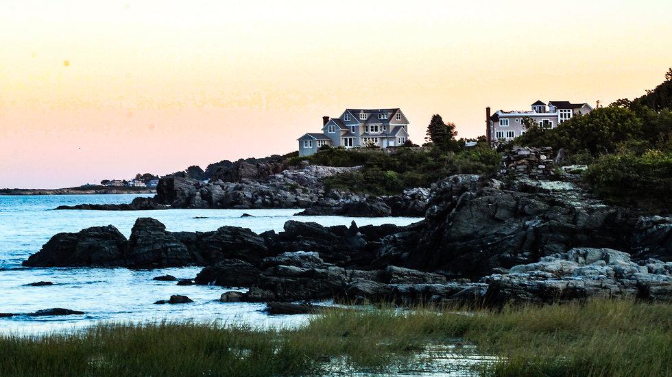 Sunset on Shore Rd. Cape Elizabeth ME