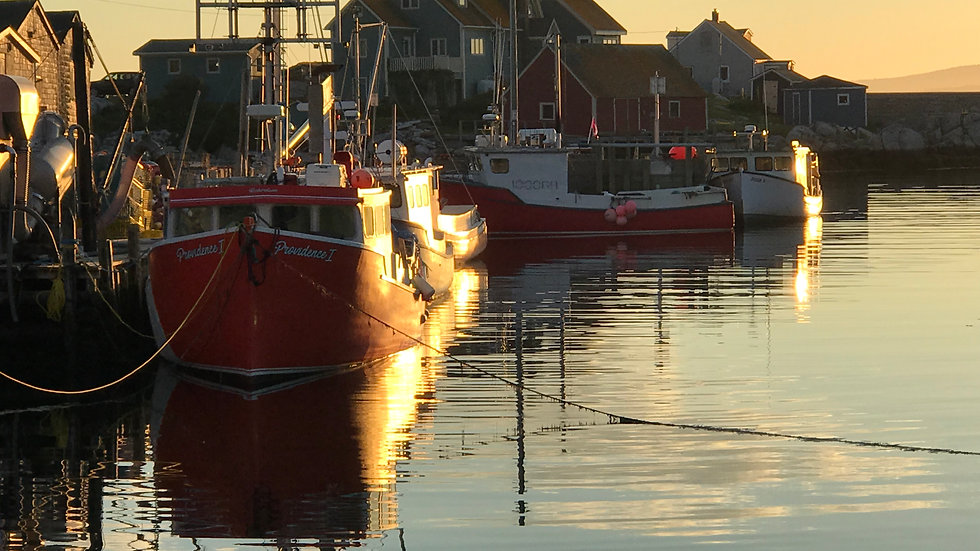 Peggy's Cove Lobster Boat