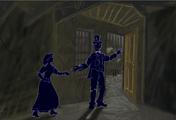 Jack invites Mary into an imaginery world