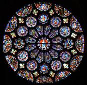Notre Dame rose window!