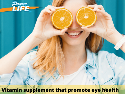 Eye vitamins and food – Are you getting enough?