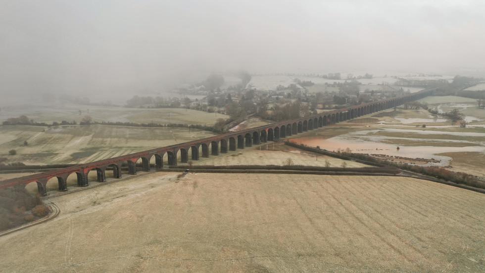 A Snowy Harringworth Viaduct.JPG