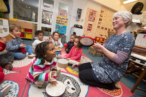Music in Early Years: Package of 4 CPD courses