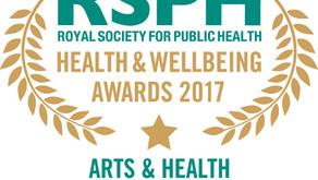 Royal Society for Public Health Awards 2017