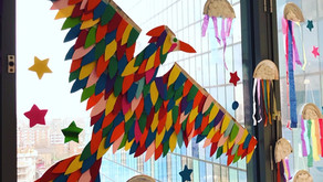 Chasing a magical firebird across London with children from the RoyalLondon Hospital