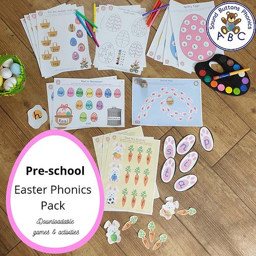 Pre-School Easter Pack - Phonics