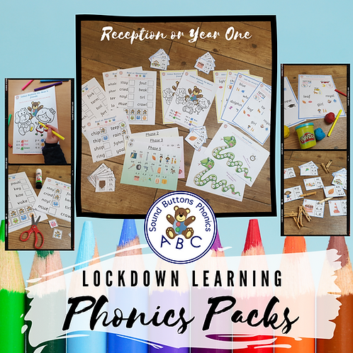 Reception/Year 1 Lockdown Learning Pack
