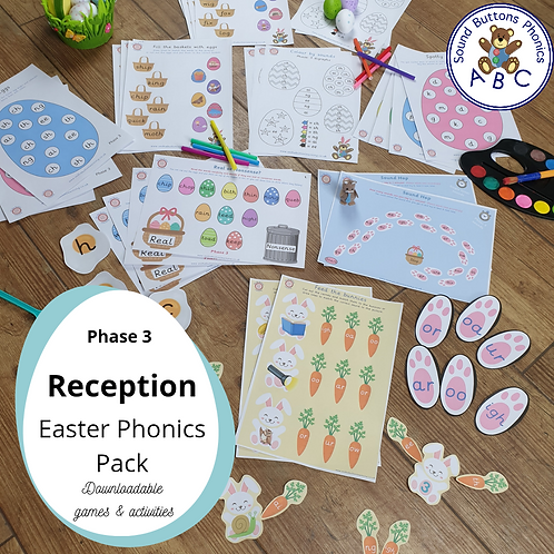 Reception Easter Phonics Pack