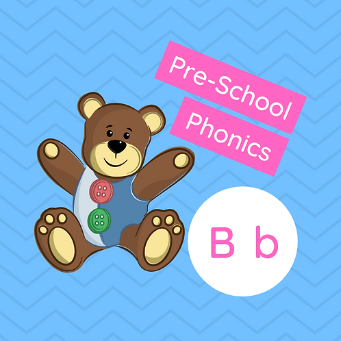 Sound Buttons Pre-school Phonics class - B