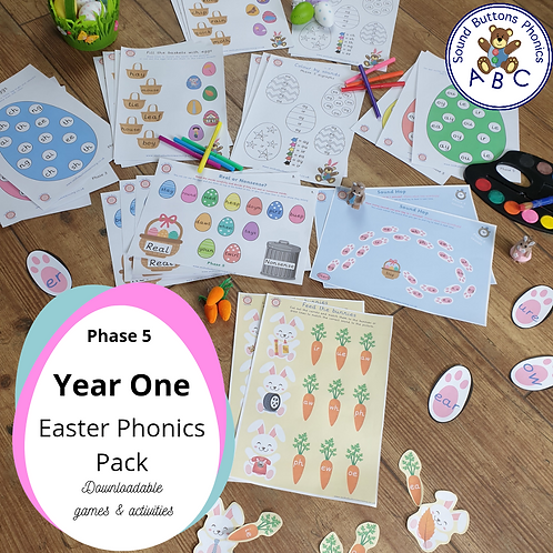 Year 1 Easter Phonics Pack