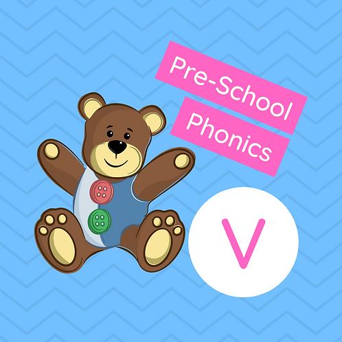 Sound Buttons Pre-school Phonics Class - V
